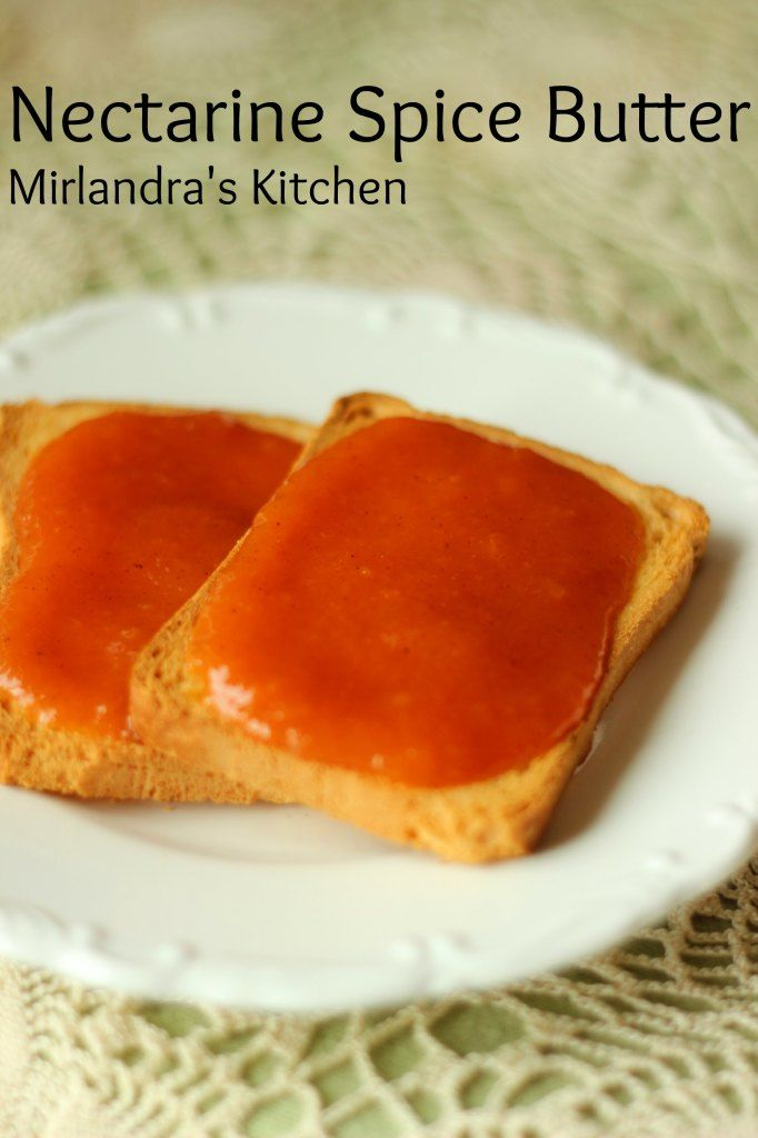 This nectarine spice butter is easy to make and lovely to have all winter long.  Store it in the fridge or can it for winter.   It also makes a great Christmas gift.