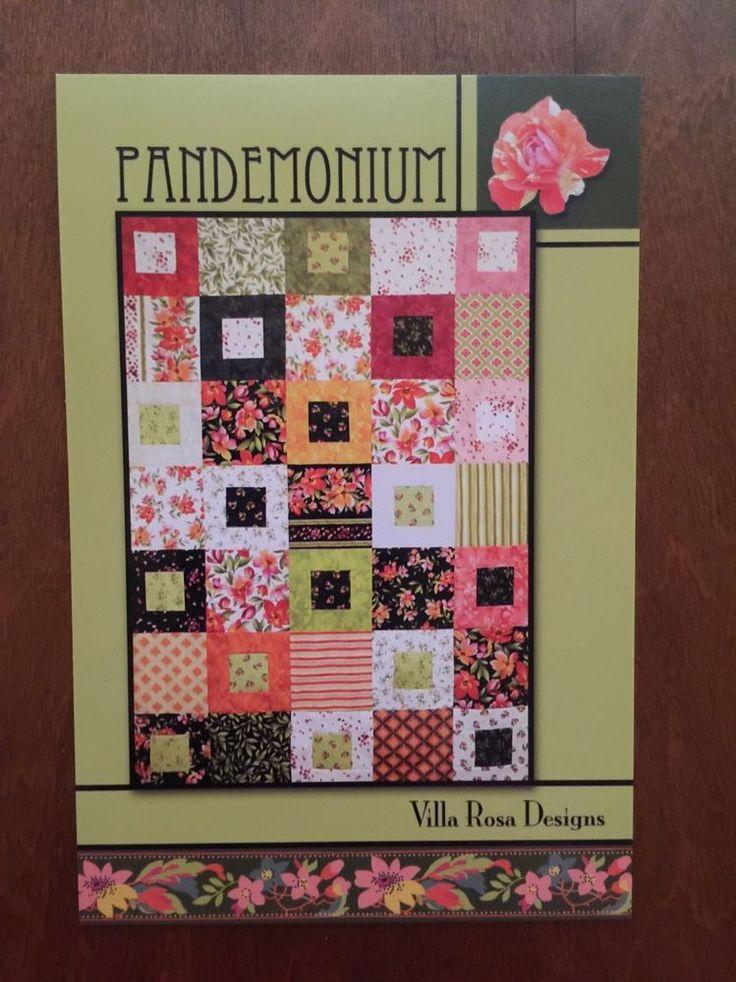 Pandemonium Quilt Pattern