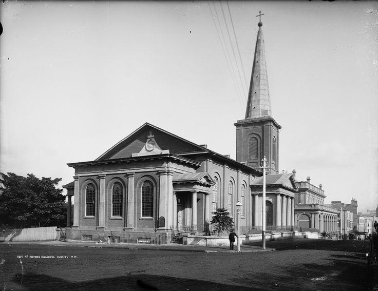 St James Church, Sydney c1890
