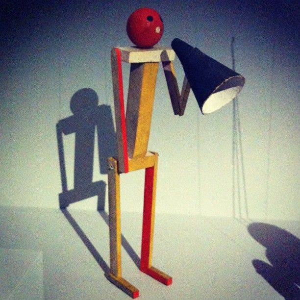 An unexpected Bauhaus puppet by Paul Klee, via @IndustryEmma