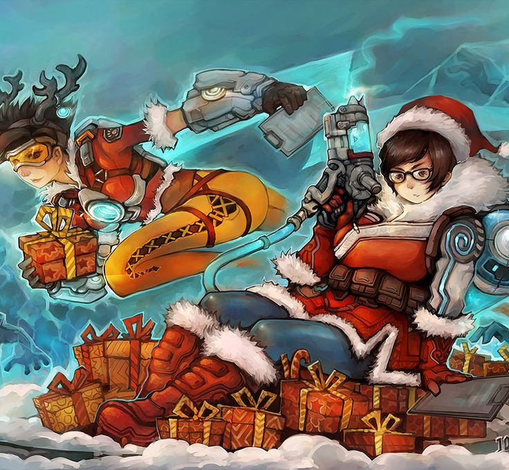44 best images about overwatch on pinterest sexy - Overwatch christmas wallpaper ...