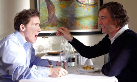Steve Coogan & Rob Brydon in The Trip. Recommended if you like satire,wit or Steve Coogan