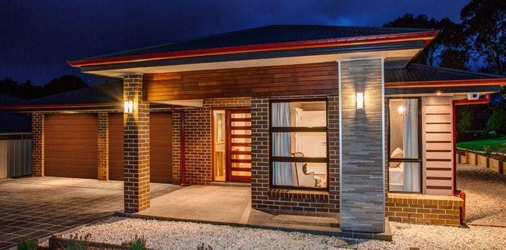 fachadas de casas modernas con ladrillo