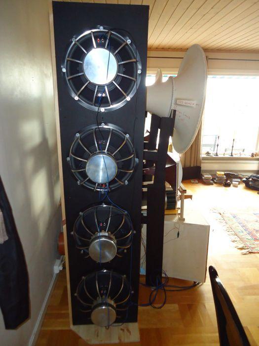 """di-pole subwoofer - 8x15"""" dipole Acoustic elegance"""