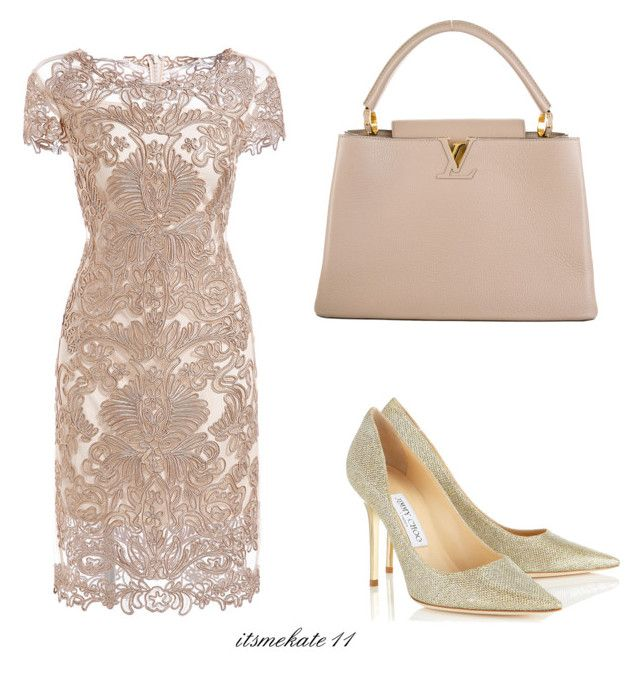 """""""outfit n.4"""" by itsmekate11 on Polyvore featuring Louis Vuitton and Jimmy Choo"""