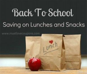 Back To School Money Savings Tips on Lunches & Snacks