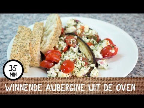 Winnend recept: aubergine met feta uit de oven