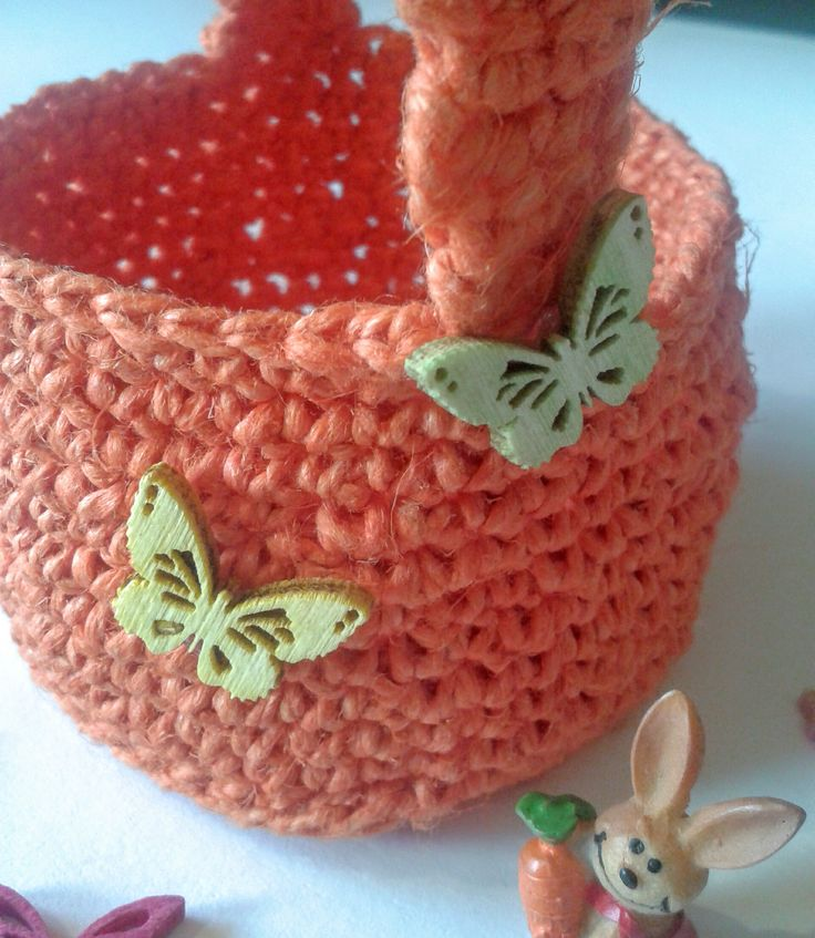 Húsvéti tároló - Easter basket