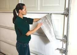 Garage Door Insulation Kits, R-6, Silver Finish, fits 8x18 ft Door or – Battic Door Home Energy