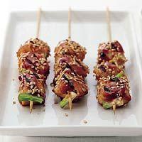 Recept - Japanse kipspiesjes met sesamzaad - Allerhande