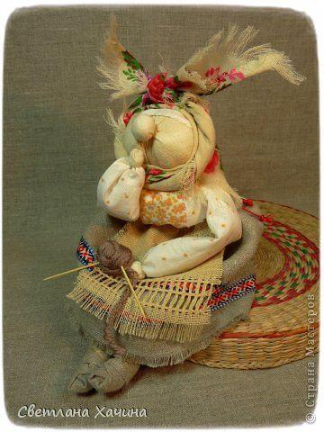 Куклы Шитьё ХарАктерные бабуськи народная кукла Ткань Шпагат фото 4