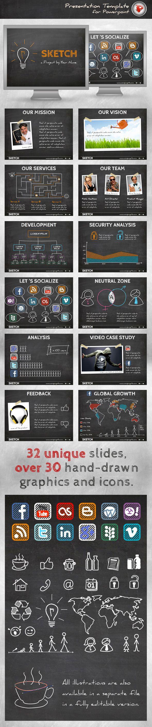 870 best powerpoint presentation templates presentation sketch powerpoint template powerpoint templates presentation templates toneelgroepblik Images