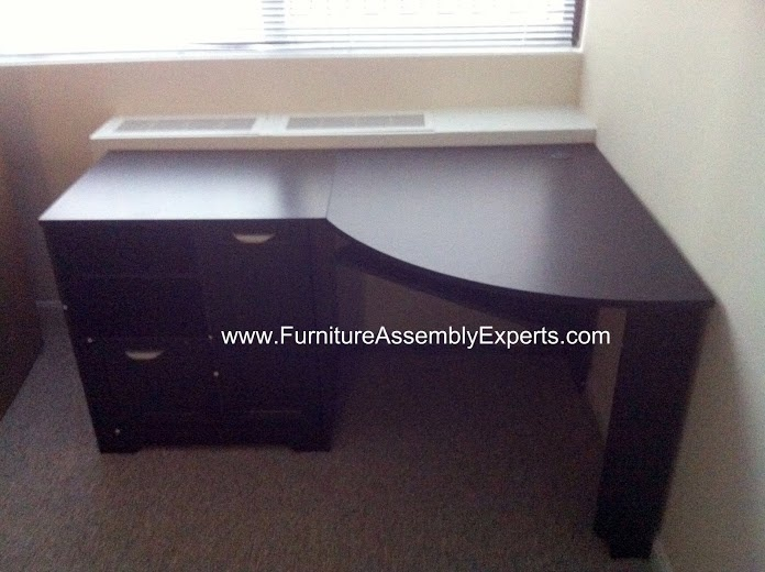 Office Depot Desk Assembled In Baltimore Md By Furniture Assembly Experts LLC
