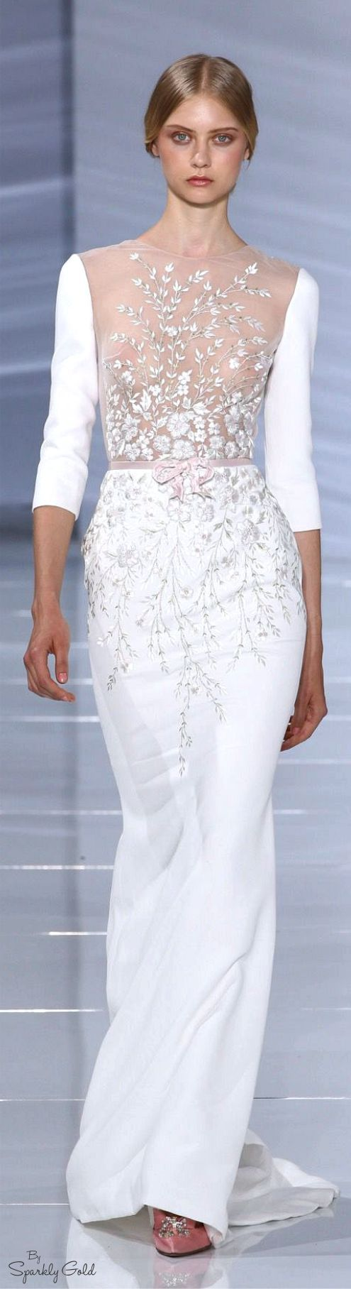 Georges Hobeika. Needs a liner but beautiful. #coupon code nicesup123 gets 25% off at www.Provestra.com www.Skinception.com and www.leadingedgehealth.com