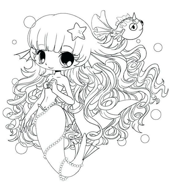 Anime Coloring Pages Free Coloring Sheets Chibi Coloring Pages Mermaid Coloring Pages Mermaid Coloring Book