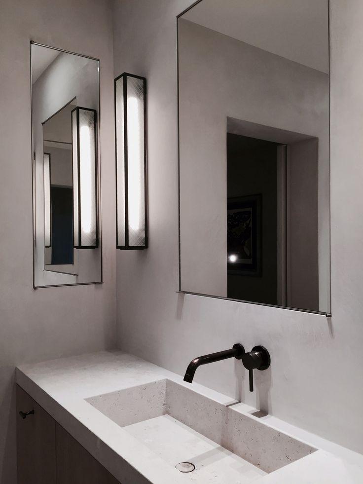 modern bathroom fountain valley reviews%0A EN Apartment Bathroom by Marc Merckx Interiors
