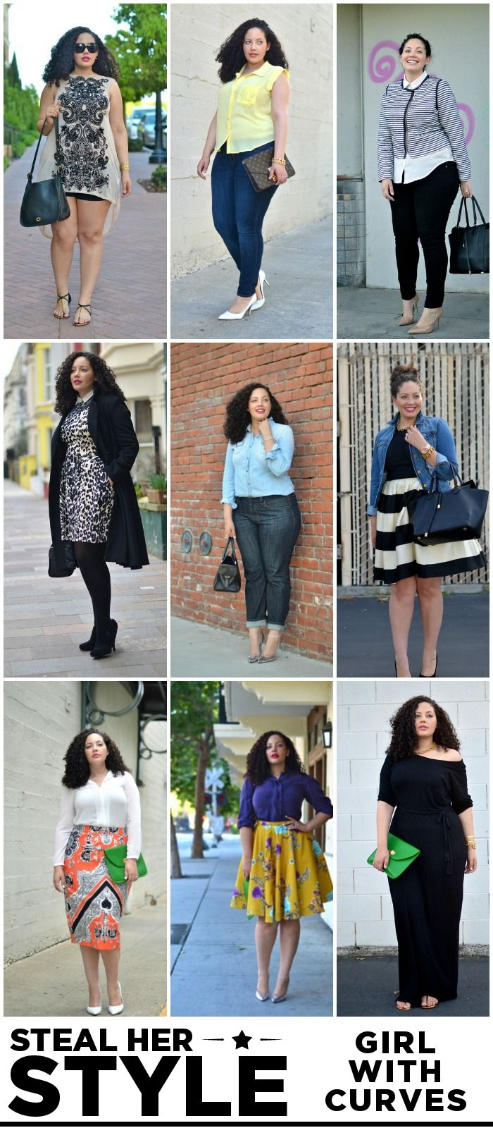 Girl with Curves {Steal Her Style} #curvy #fashion #blog #outfit #style #shopping