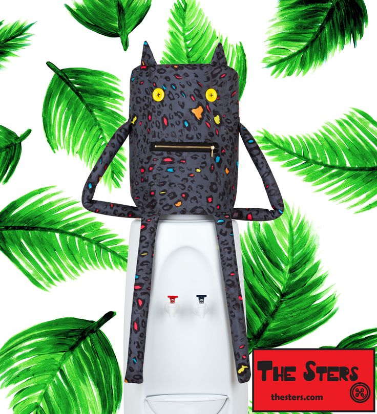 Add some wild to the jungle of your kitchen with this cover for water dispenser The Sters