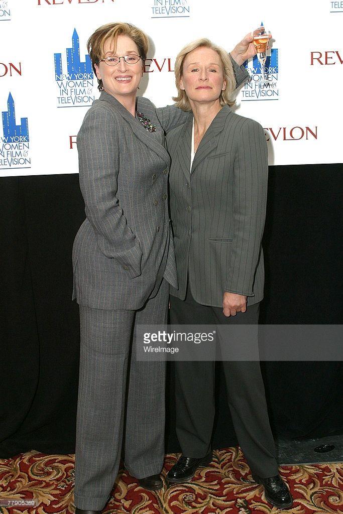 Meryl Streep and Glenn Close