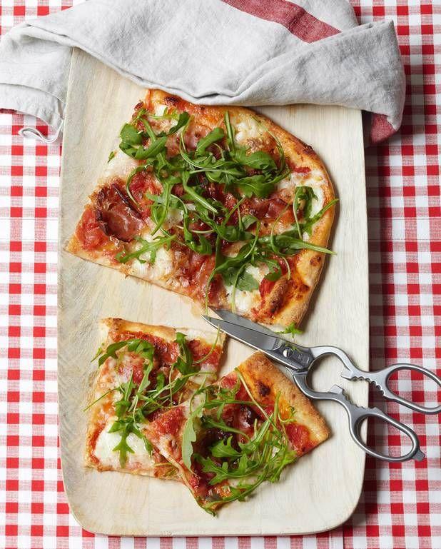 Pizza « al taglio » pour 6 personnes - Recettes Elle à Table