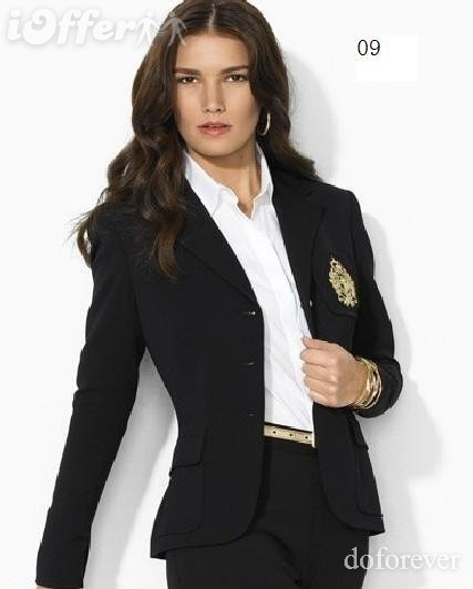 Female domination business suit