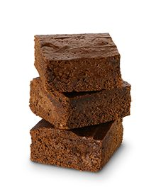 This moist and fudgy chocolate treat brings out the kid in all of us! And here's the grown-up fact: these brownies contain 25% fewer calories* and 80% less sugar* than the full-sugar version. Makes 16 brownies.