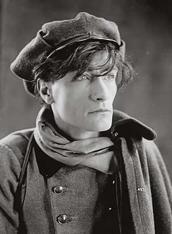 Young Antonin Artaud in character as Gringalet in Le juif Errant by Luitz-Morat, 1926