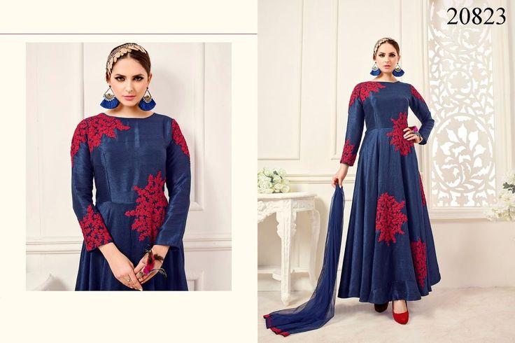 Salwar Indian Kameez Designer Suit Pakistani Anarkali Dress New Ethnic Bollywood #TanishiFashion