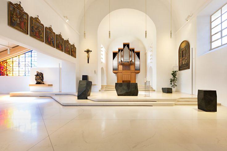 MESSNER Architects · St. Michael parish church renovation · Divisare