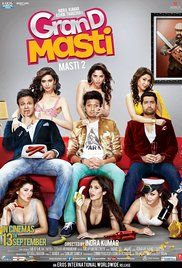 Watch Grand Masti Full Movies Online. Meet, Prem, and Amar look to have a blast at their college reunion, though they soon find themselves in another predicament.
