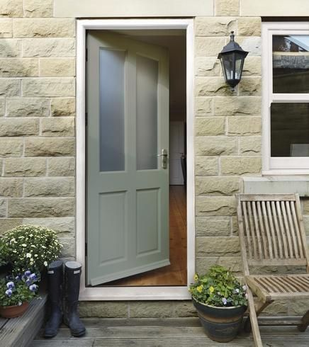 Richmond m t glazed howdens doors entries awning for External glazed back door