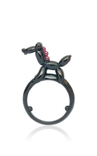 Chinese Zodiac Ring   Horse by LAUREN X KHOO for Preorder on Moda Operandi