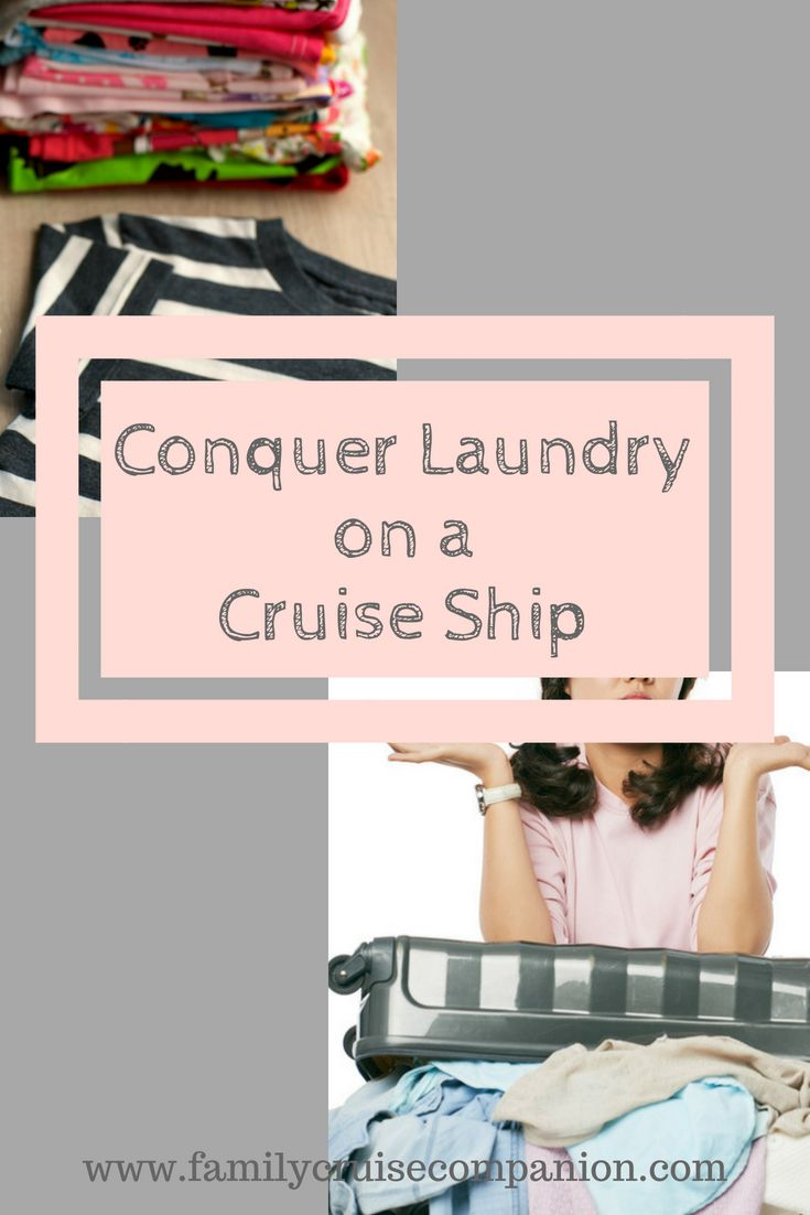 How To Conquer Family Laundry On A Cruise Ship With Images