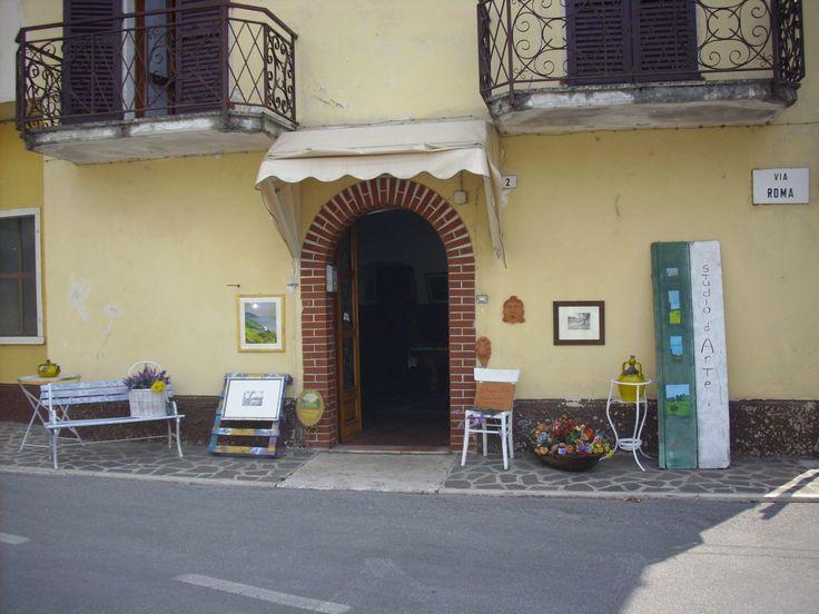 Studio d'Arte di Ferruccio Gallina (esterno) - Ferruccio Gallina's Art Studio (entrance)