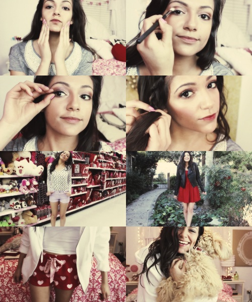 bethany mota valentine's day decor