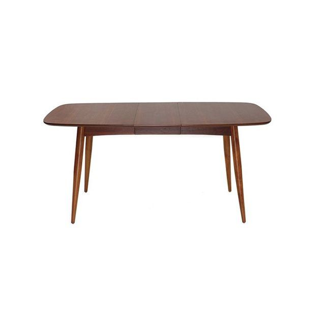 Table extensible table a manger nordeco table rallonge for Table extensible industrielle