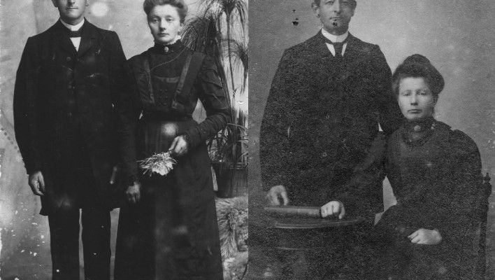 Picture of two couples