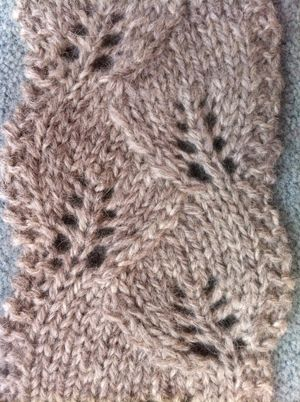 88 Best Knitted Leaf Patterns Images On Pinterest Knitting