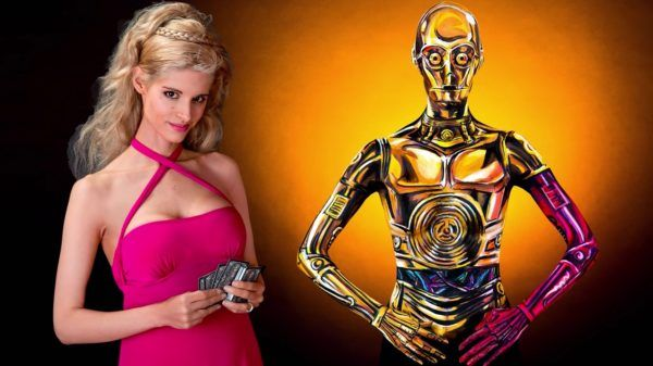 Watch Kay Pike Completely Disappear Into This C-3PO Cospaint