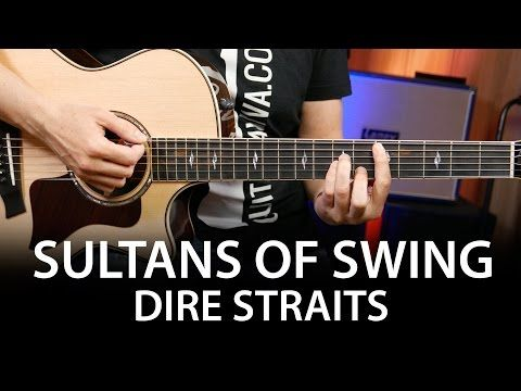 Sultans Of Swing - Dire Straits Guitar chords cover on guitar ( How ...