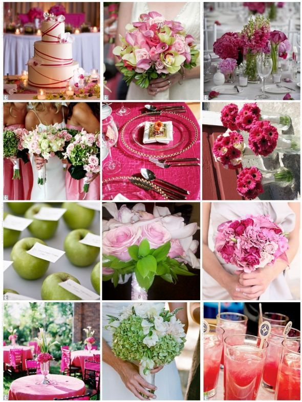 9 best dream wedding lime green green aqua pink and brown theme need hot pink and brown spring wedding ideas junglespirit Choice Image