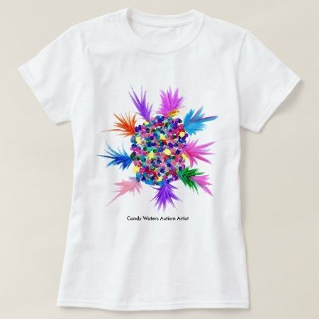 Candy Waters Autism Artist T-Shirt - tap to personalize and get yours
