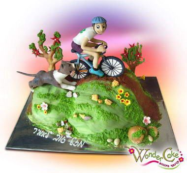 Road Bike Cake Decoration : 25 best images about Bicycle Cakes on Pinterest Bikes ...