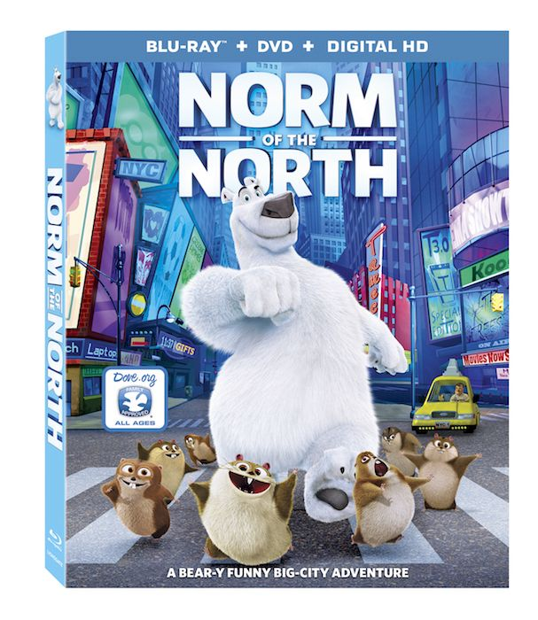 Create With Mom: Win your copy of Norm of the North