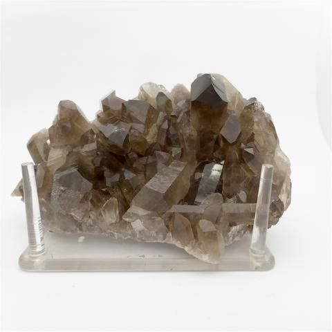 Natural Crystal Smoky Quartz Cluster | Clean points, good colour |  Capricorn Sagittarius Star Stone | Crystal Heart Melbourne Australia since 1986