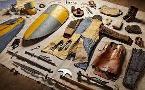 armatura e armi uttilizzate per guerra dei 100 anni