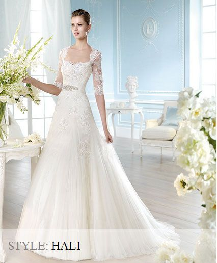 San Patrick Wedding Gown - Glamour Collecton 2014 - Hali