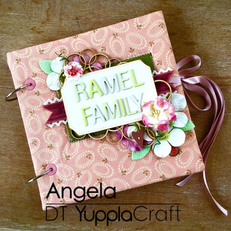 Album di famiglia  #yupplacraft #album #pattern #minialbum