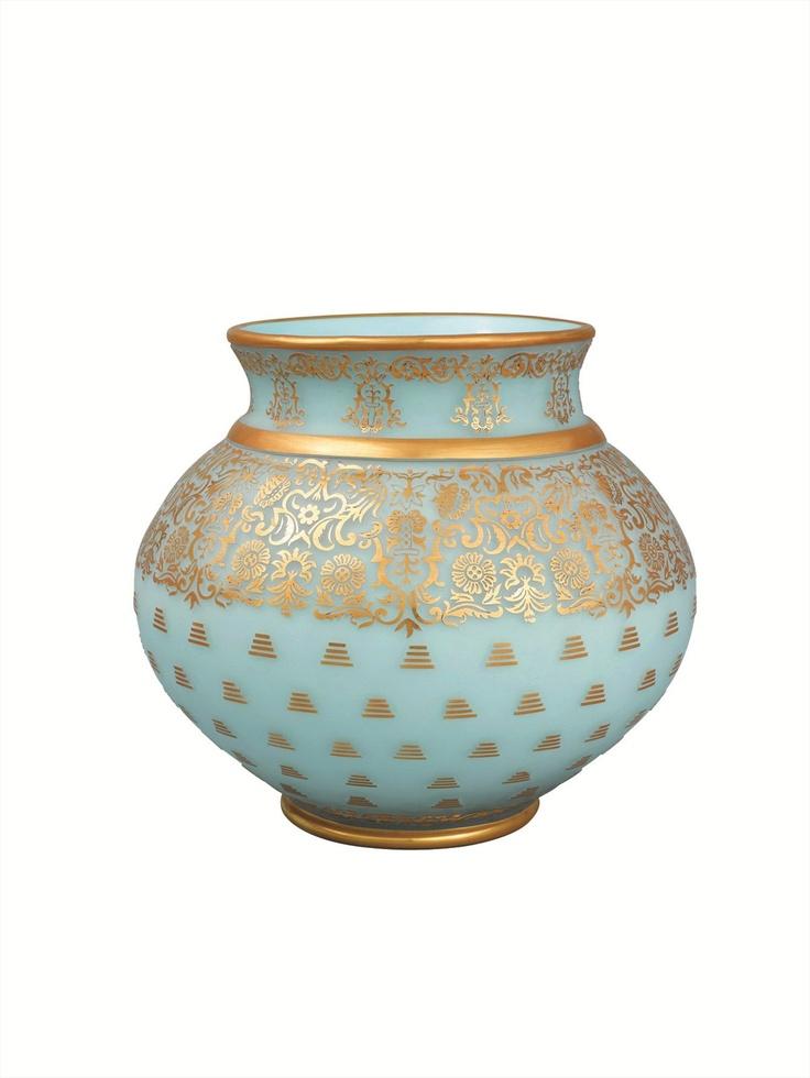Paşabahçe Handmade Glass Vase