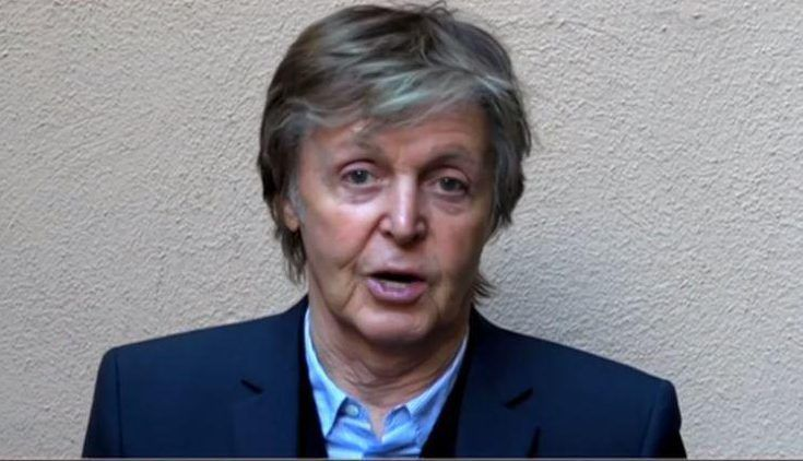 PAUL ON THE RUN: Paul McCartney 'stand with Manchester' in special ...